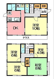 [一戸建] 神奈川県鎌倉市西鎌倉1丁目 の賃貸【/】の間取り