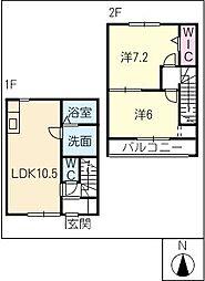 [タウンハウス] 愛知県碧南市平七町5丁目 の賃貸【/】の間取り