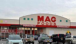 マグフーズ中島店まで徒歩約22分