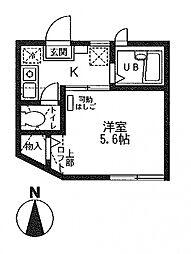レ・セーナ上星川[101号室号室]の間取り