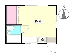 K&Nハウス bt[-2-2号室]の間取り