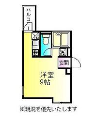 リバティ町田b[3階]の間取り