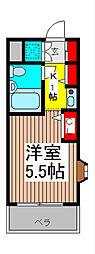 ジョイフル浦和仲町[7階]の間取り