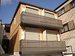 兵庫県神戸市東灘区田中町1丁目の賃貸アパートの外観