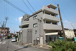 愛知県名古屋市中川区供米田3丁目の賃貸マンションの外観