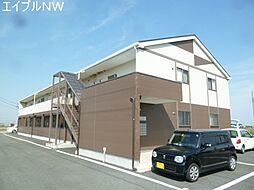 三重県松阪市小野江町の賃貸アパートの外観