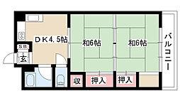 愛知県名古屋市南区上浜町の賃貸マンションの間取り