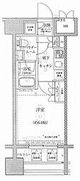 ライジングプレイス川崎[9階]の間取り