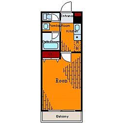サンシャレード亀戸[6階]の間取り