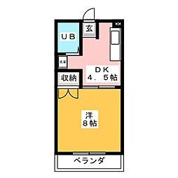 ファイン町田[3階]の間取り