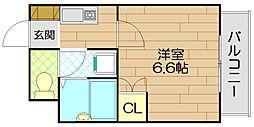 石岡第2マンション[3階]の間取り