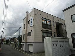北海道札幌市東区北三十八条東5丁目の賃貸アパートの外観
