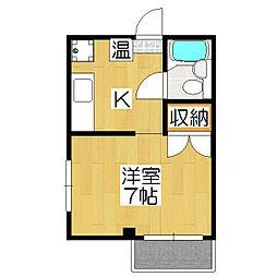 コットンハウス17[401号室]の間取り