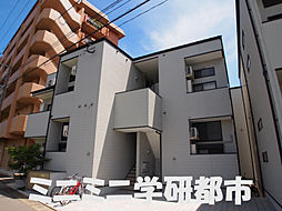 福岡県福岡市西区周船寺3丁目の賃貸アパートの外観