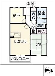 MIRADOR[3階]の間取り