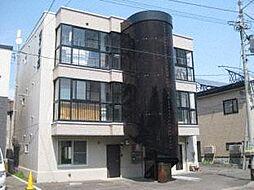 北海道札幌市北区北三十四条西11丁目の賃貸マンションの外観