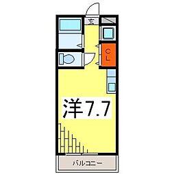 Baan萬[305号室号室]の間取り