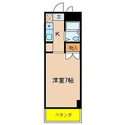 TAKANOビル[302号室]の間取り