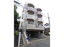 京都府京都市北区紫竹牛若町の賃貸マンションの外観