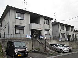 大阪府四條畷市田原台2丁目の賃貸アパートの外観
