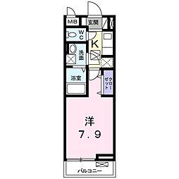 ORION[0103号室]の間取り