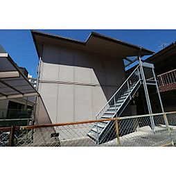 奈良県奈良市西大寺新町1丁目の賃貸アパートの外観