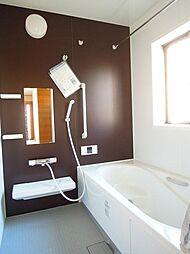 保温浴槽。広々...