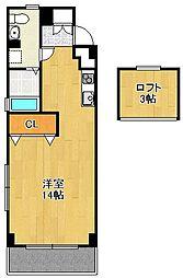 トアヴェール西宮[5階]の間取り