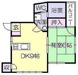 樋口ビル[3階]の間取り