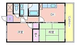 メゾン神宮寺[3階]の間取り