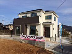 現地モデルハウス写真(外観)