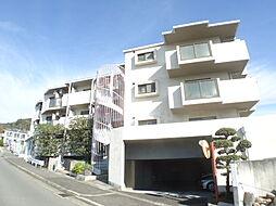 兵庫県神戸市東灘区西岡本5丁目の賃貸マンションの外観