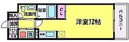 ピジェブラン太子橋[4階]の間取り