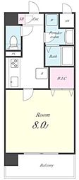 ACOマンション[205号室号室]の間取り