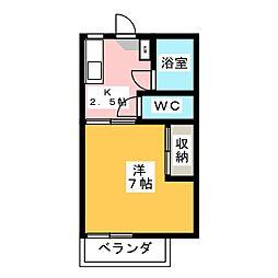 シティハウスM[1階]の間取り