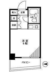 ジュヒロプラザ赤羽[11階]の間取り