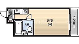 マンションASAHI[3階]の間取り