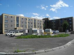 北海道札幌市北区百合が原5丁目の賃貸マンションの外観