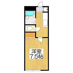 エスティ21[106号室]の間取り