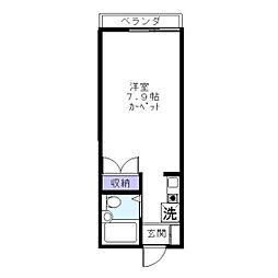 フォルムダイワ[1階]の間取り