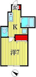 AZEST-RENT柴又[1階]の間取り
