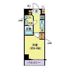 プレール・ドゥーク川崎[5階]の間取り