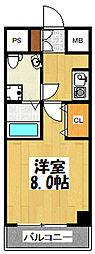 プラディオ徳庵セレニテ.[5階号室]の間取り