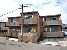 兵庫県西宮市小松町1丁目の賃貸アパートの外観