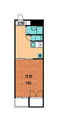 エトワール細野[2階]の間取り