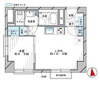 階下に住居が無く伸び伸びとお住まい頂けます