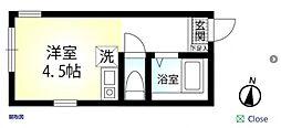 Kalio妙蓮寺[1階]の間取り
