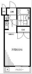 シェ・モワ荻窪 A館[203号室]の間取り