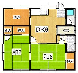 [一戸建] 神奈川県南足柄市駒形新宿 の賃貸【/】の間取り