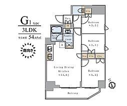JR山手線 上野駅 徒歩12分の賃貸マンション 10階3LDKの間取り